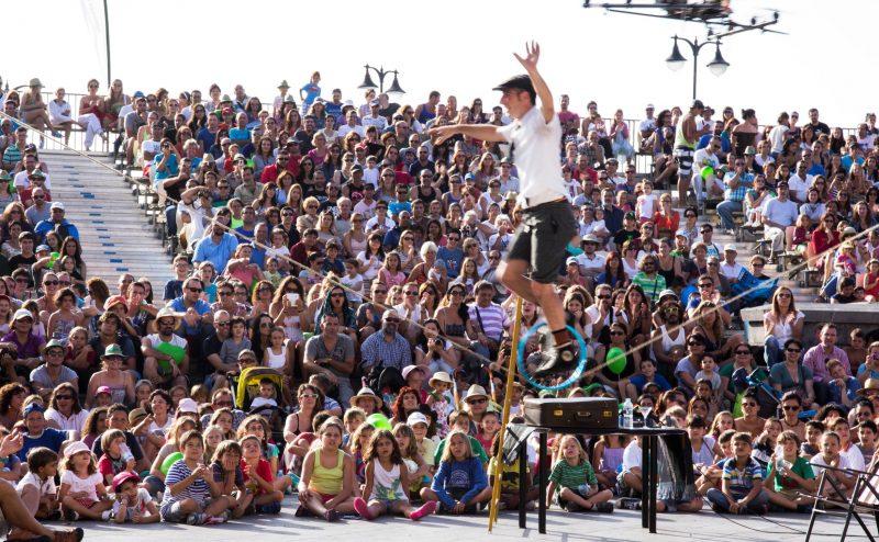 Una de las actuaciones del último Festival Mueca en Puerto de la Cruz