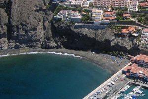 Playa de los Guíos en Santiago del Teide