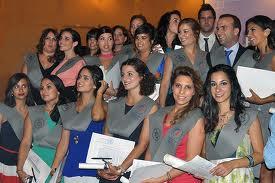 Mujeres graduadas Universidad de La Laguna, Tenerife