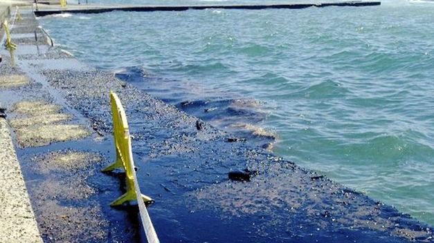 Vertido de petróleo Gran Canaria