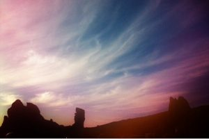 Atardecer en el Parque Nacional del Teide