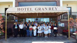 Equipo del Hotel Gran Rey en La Gomera