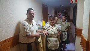 Departamento de pisos del Hotel Fañabé Costa Sur de GF Hoteles. en Tenerife