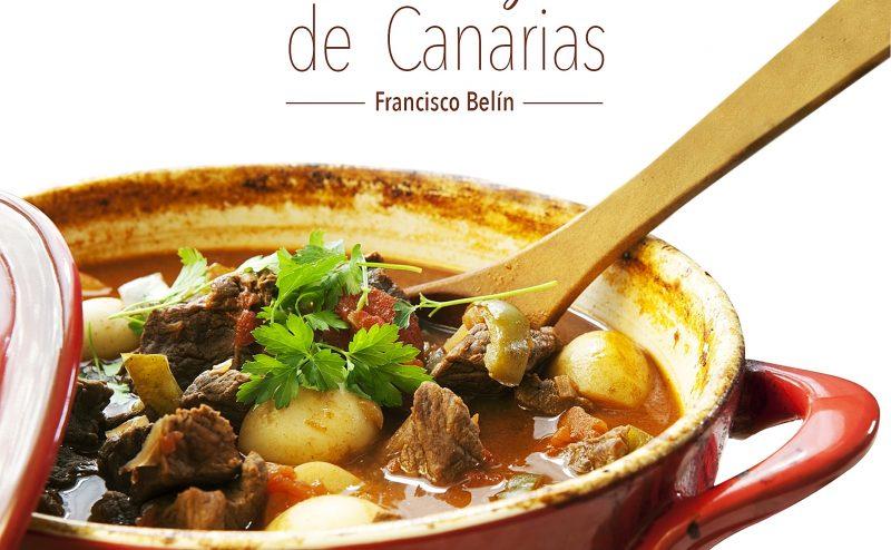 Portada del libro Recetas Antiguas de Canarias de Francisco Belín