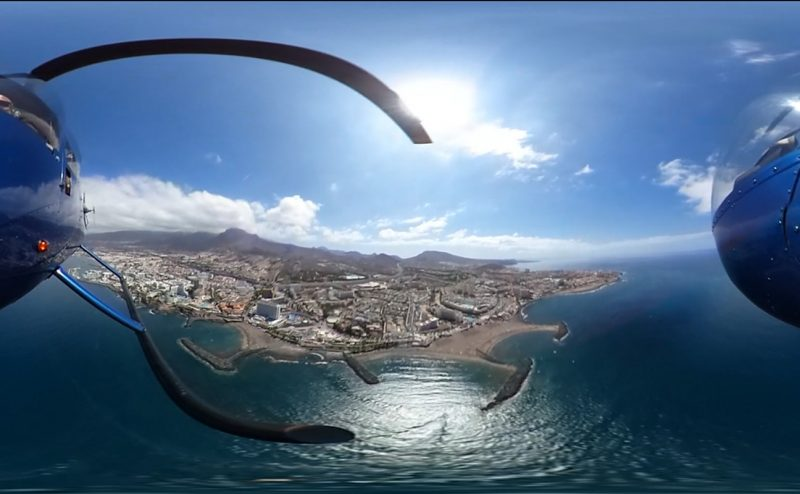 Realidad virtual en altos vuelos en Tenerife