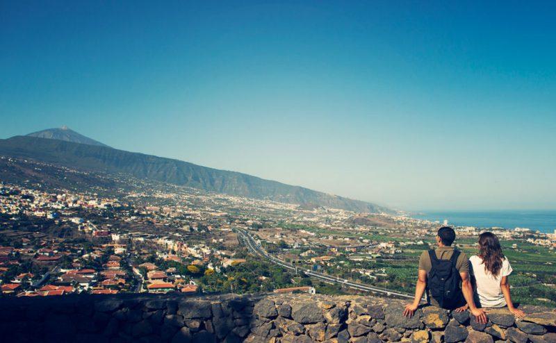 Mirador de humboldt La Orotava, Tenerife