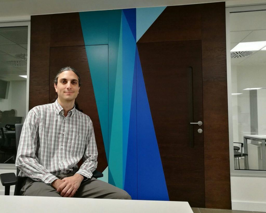Alejandro Virgós, responsable de prevención de riesgos laborales del grupo hotelero Spring Hoteles, establecimiento turístico asociados a la patronal hotelera de Santa Cruz de Tenerife, Ashotel