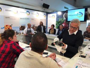 Víctor Bossecker, chef ejecutivo del Princesa Yaiza en el Fórum Gastronómico de Coruña