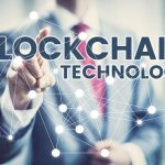 65452858 - blockchain technology concept, business man in suit selecting network interface.