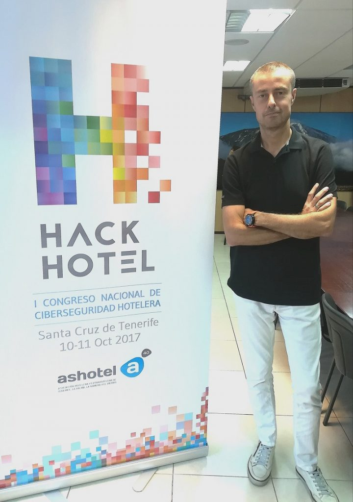 Gustavo Cáceres HackHotel 2