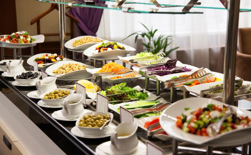 Restaurant buffet photo fresh food 1