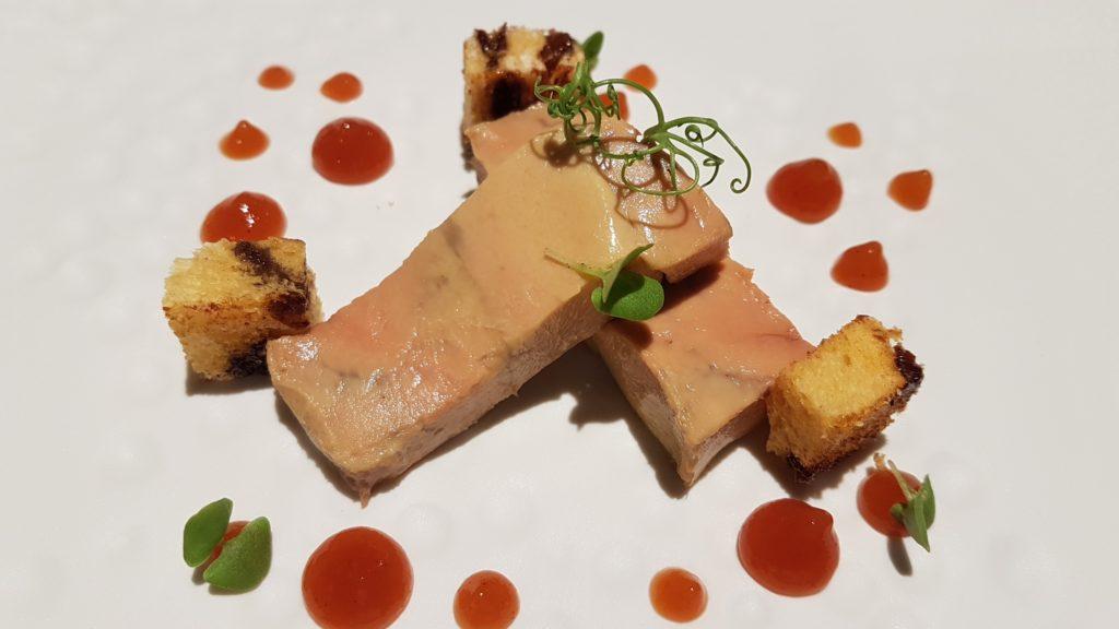 Foie gras. Melvin