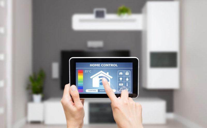 Control remoto para luces en un hotel