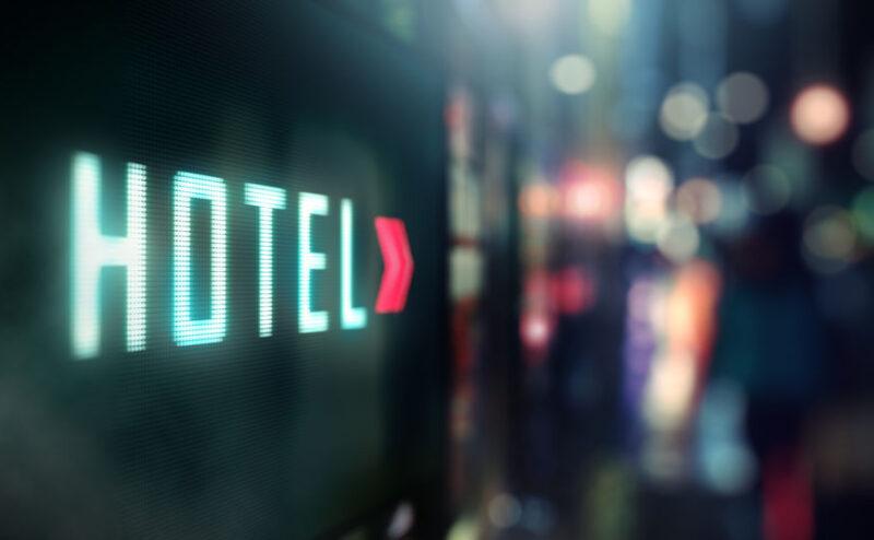 LED Display - Hotel signage
