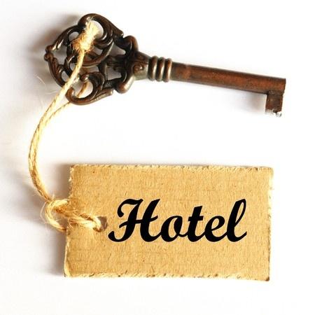 llave antigua de hotel