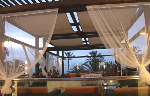 Lugar para celebración de bodas en el Hotel Beatriz Atlantis, Tenerife, islas Canarias
