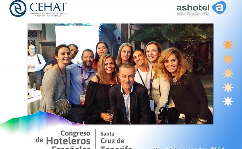 Ashotel en el photocall del Congreso Hotelero