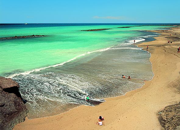 Navidades en Tenerife, Playa del Duque Adeje
