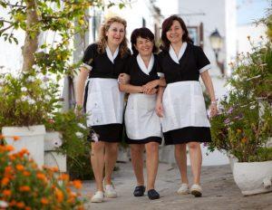 camareras de pisos felices