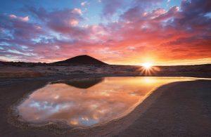 Montaña Roja Contrastes de Luz (2)