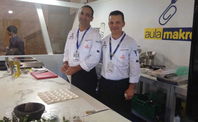 Juan Carlos Clemente, vicepresidente de Asyre y Miguel Barrera, colaborador de Juan Carlos Clemente