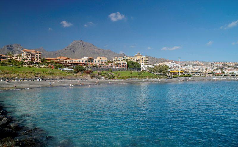 Playa Fañabé, sur de Tenerife. El blog de Ashotel. Jorge Marichal