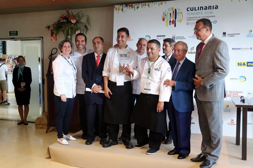 Rubén Cabrera, primer premio en el III Certamen Nacional de Gastronomía en la modalidad de cocina. El blog de Ashotel.