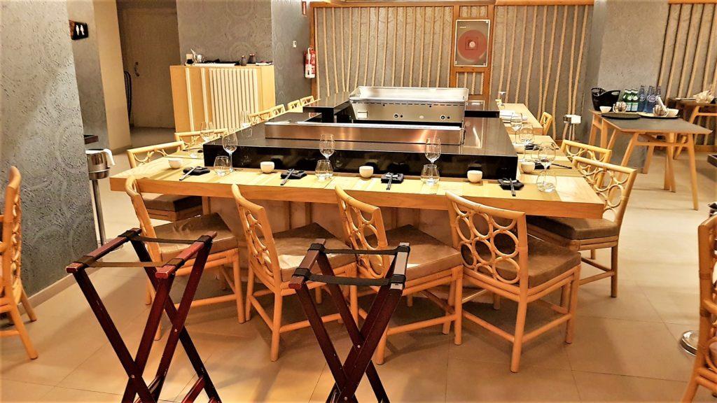 restaurante Narumi Hard Rock Hotel