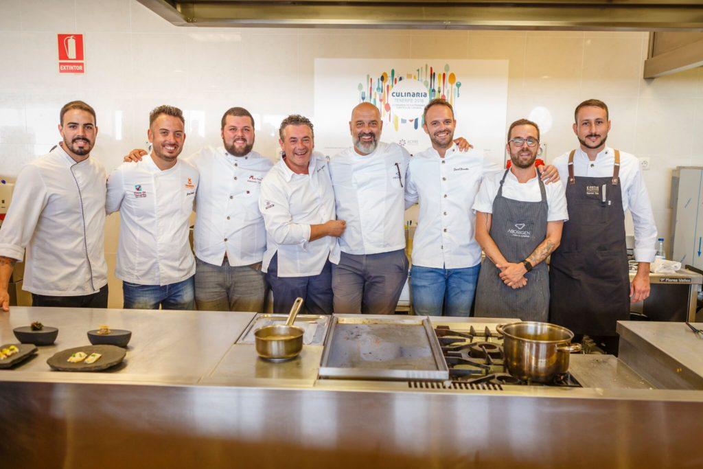 Culinaria Tenerife 2018 grupo cocina atlántica
